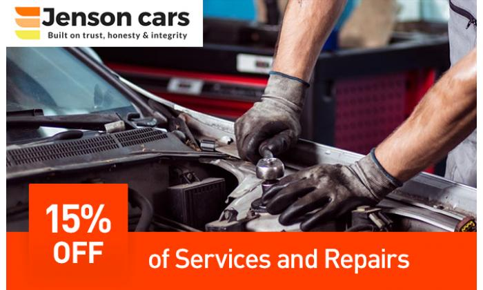15% Off on Service and Repairs image