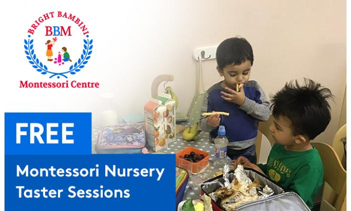 Free Montessori Nursery Taster Sessions image