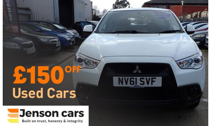 £150 off on Used Cars image