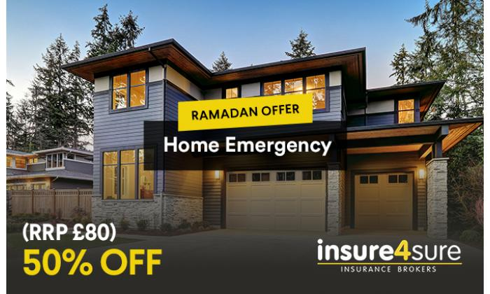 Home Emergency 50% Off image