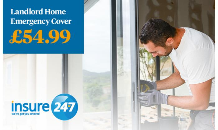 Landlord Home Emergency Cover £54.99 image