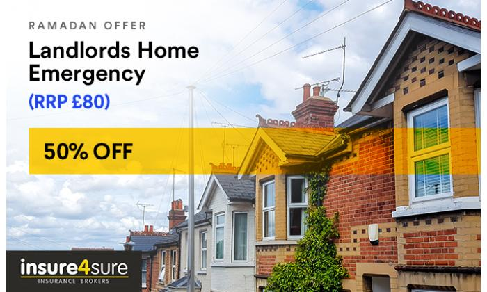 Landlords Home Emergency 50% Off image