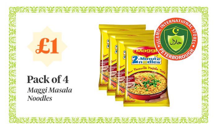 Maggi Massala Noodles - 4 for £1.00 image