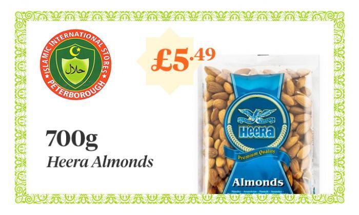 HEERA Almonds - 700g - £5.49 image