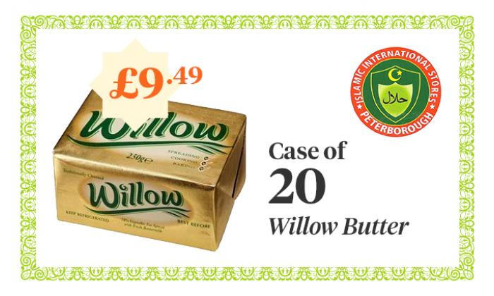 Willow Butter - Case of 20 - £9.49 image