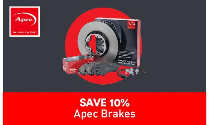 10% Off Apec Pads & Discs image