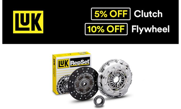 £5 Off LUK Clutch Kit image