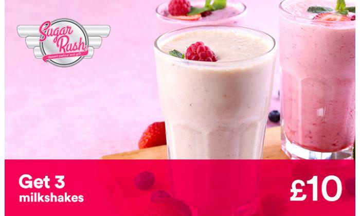 Get 3 Milkshakes image
