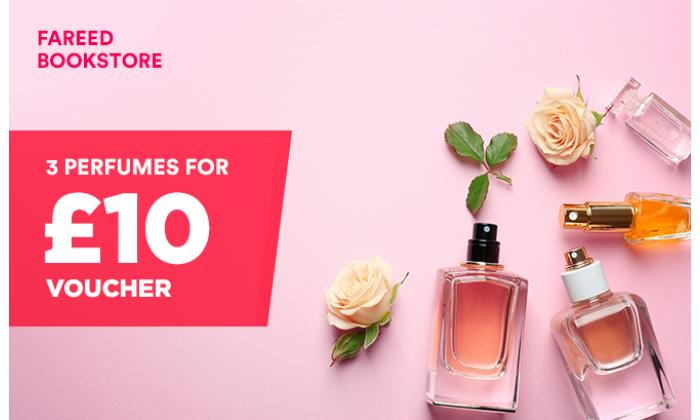3 Perfumes for £10 image