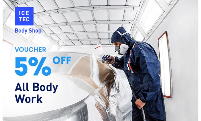 5% Off All Body Work image