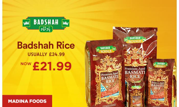 Badshah Rice only 21.99 image